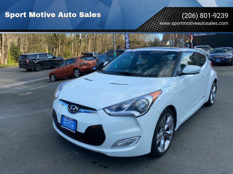 2014 Hyundai Veloster for sale at Sport Motive Auto Sales in Seattle WA