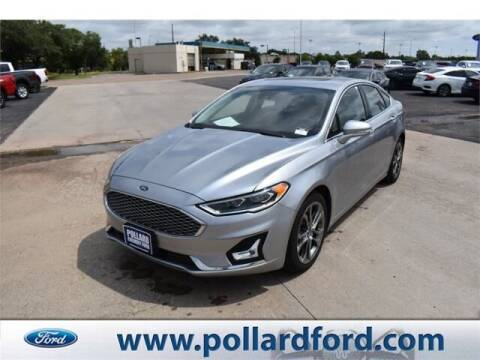 2020 Ford Fusion Hybrid for sale at South Plains Autoplex by RANDY BUCHANAN in Lubbock TX