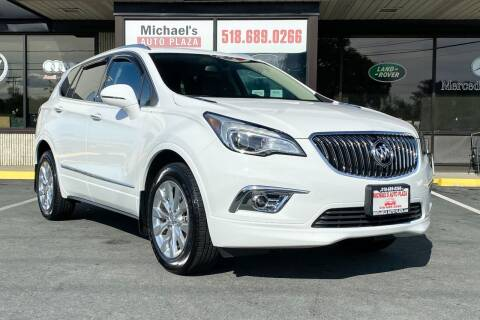 2017 Buick Envision for sale at Michaels Auto Plaza in East Greenbush NY