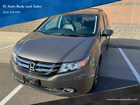 2015 Honda Odyssey for sale at KI Auto Body and Sales in Lino Lakes MN