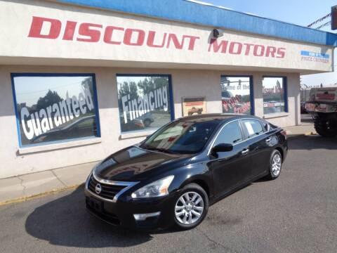2015 Nissan Altima for sale at Discount Motors in Pueblo CO