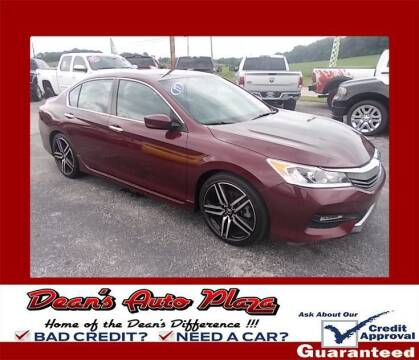 2017 Honda Accord for sale at Dean's Auto Plaza in Hanover PA