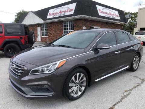 2015 Hyundai Sonata for sale at HarrogateAuto.com - tazewell auto.com in Tazewell TN