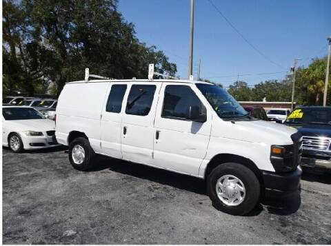 2012 Ford E-Series Cargo for sale at DONNY MILLS AUTO SALES in Largo FL