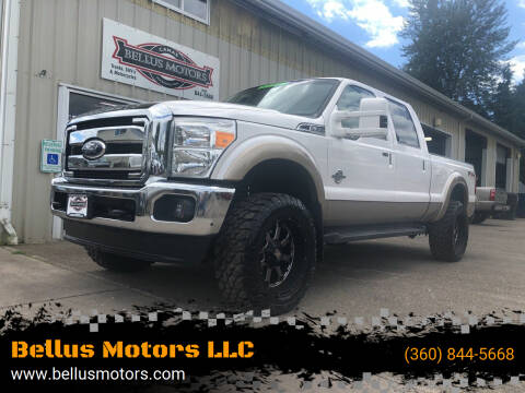 2011 Ford F-350 Super Duty for sale at Bellus Motors LLC in Camas WA