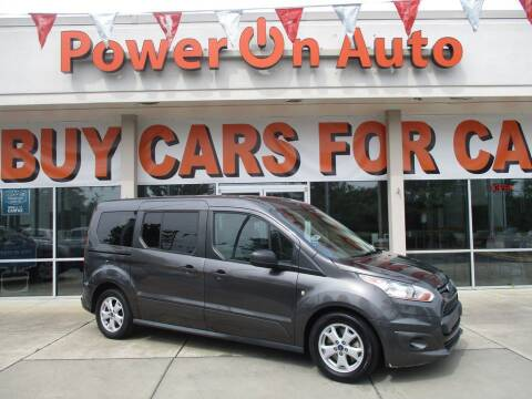 2016 Ford Transit Connect Wagon for sale at Power On Auto LLC in Monroe NC