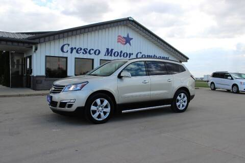 2016 Chevrolet Traverse for sale at Cresco Motor Company in Cresco IA