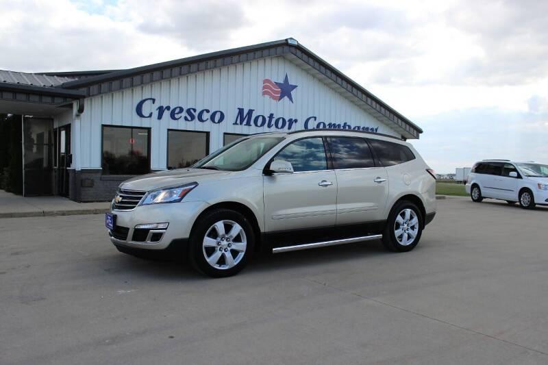 2016 Chevrolet Traverse for sale at Cresco Motor Company in Cresco IA
