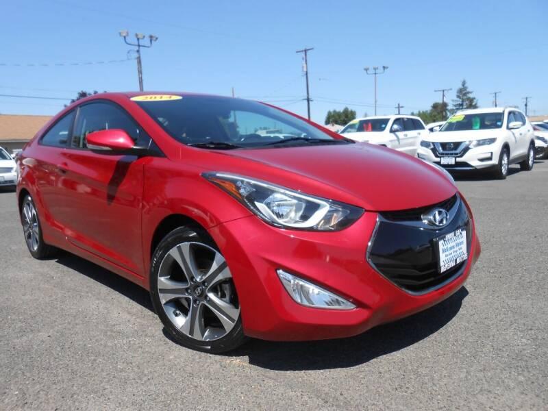 2014 Hyundai Elantra Coupe for sale at McKenna Motors in Union Gap WA