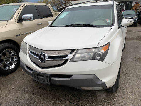 2007 Acura MDX for sale at BULLSEYE MOTORS INC in New Braunfels TX