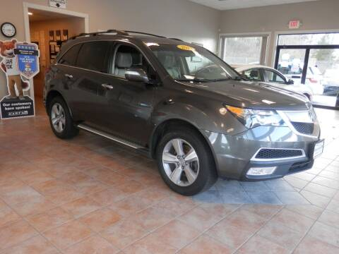 2012 Acura MDX for sale at ABSOLUTE AUTO CENTER in Berlin CT