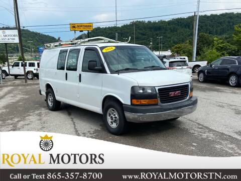 2016 GMC Savana Cargo for sale at ROYAL MOTORS LLC in Knoxville TN