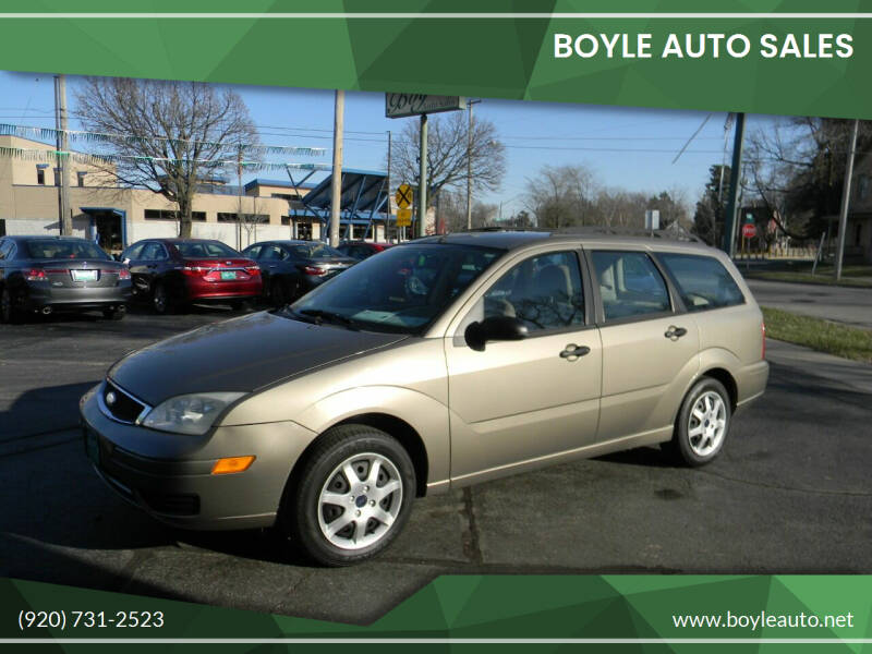 2005 Ford Focus for sale at Boyle Auto Sales in Appleton WI