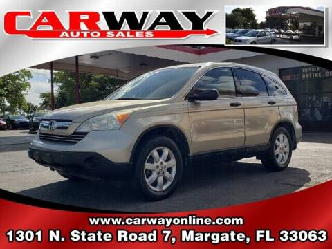 2008 Honda CR-V for sale at CARWAY Auto Sales in Margate FL