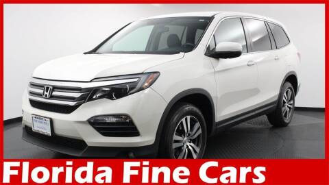 2017 Honda Pilot for sale at Florida Fine Cars - West Palm Beach in West Palm Beach FL