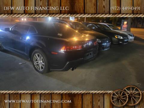 2014 Chevrolet Camaro for sale at Bad Credit Call Fadi in Dallas TX