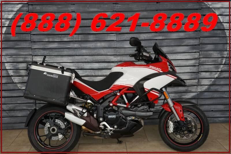 2013 Ducati Multistrada for sale at Motomaxcycles.com in Mesa AZ