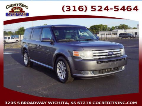 2010 Ford Flex for sale at Credit King Auto Sales in Wichita KS