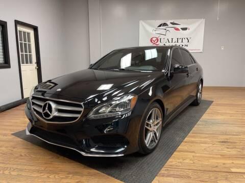 2016 Mercedes-Benz E-Class for sale at Quality Autos in Marietta GA