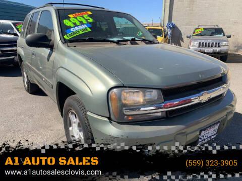 2004 Chevrolet TrailBlazer for sale at A1 AUTO SALES in Clovis CA