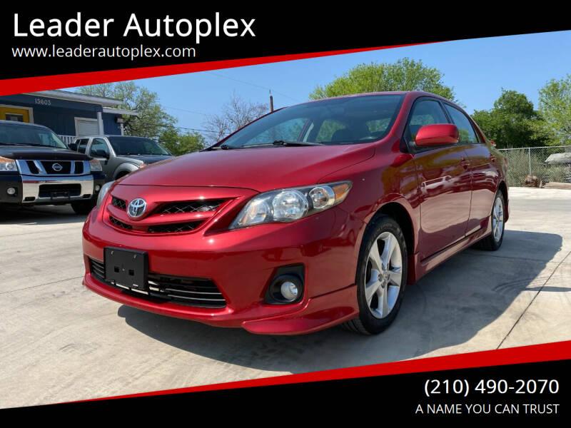 2011 Toyota Corolla for sale at Leader Autoplex in San Antonio TX