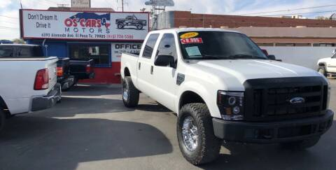 2008 Ford F-350 Super Duty for sale at Os'Cars Motors in El Paso TX