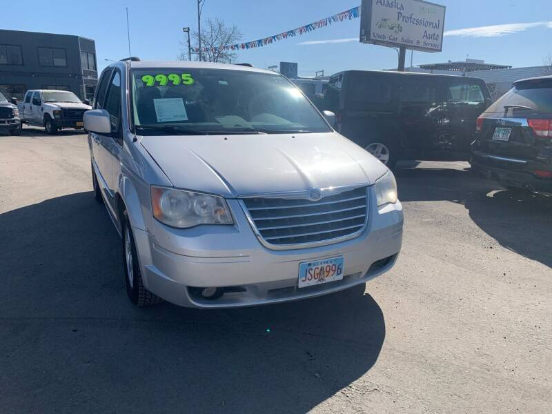 2010 Chrysler Town and Country for sale at ALASKA PROFESSIONAL AUTO in Anchorage AK