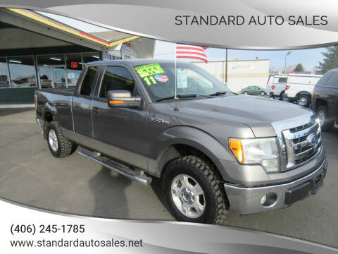 2011 Ford F-150 for sale at Standard Auto Sales in Billings MT