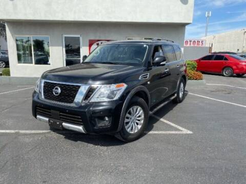 2018 Nissan Armada for sale at Brown & Brown Wholesale in Mesa AZ