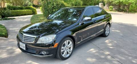 2009 Mercedes-Benz C-Class for sale at Motorcars Group Management - CATALANI MOTOR CENTER in San Antonio TX