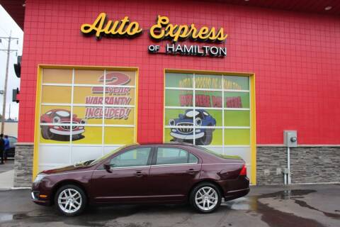 2012 Ford Fusion for sale at AUTO EXPRESS OF HAMILTON LLC in Hamilton OH