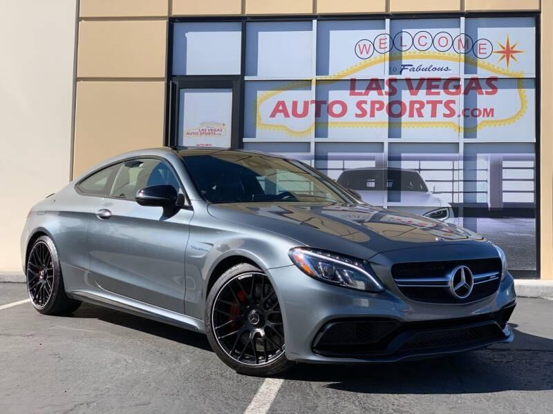 2018 Mercedes-Benz C-Class for sale at Las Vegas Auto Sports in Las Vegas NV