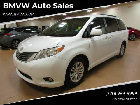 2011 Toyota Sienna for sale at BMVW Auto Sales in Union City GA