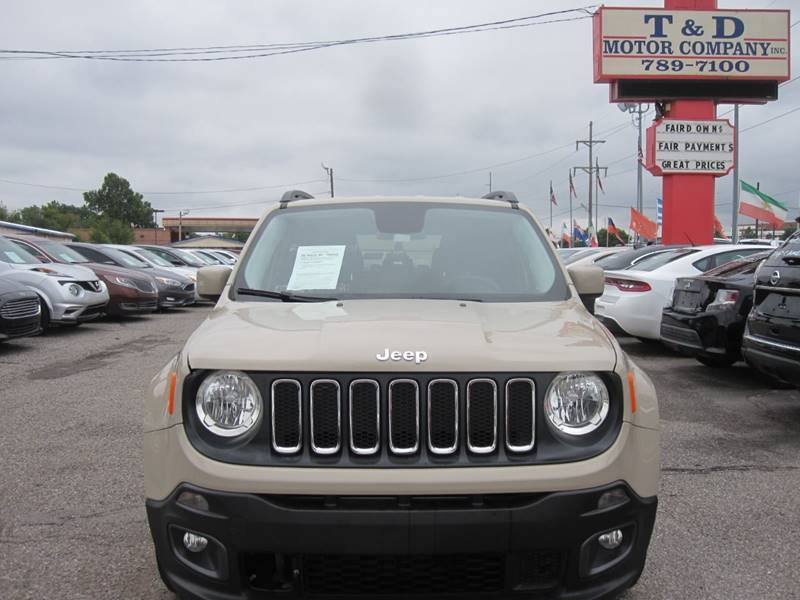 2015 Jeep Renegade for sale at T & D Motor Company in Bethany OK