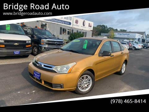 2009 Ford Focus for sale at Bridge Road Auto in Salisbury MA