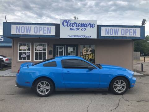 2010 Ford Mustang for sale at Claremore Motor Company in Claremore OK