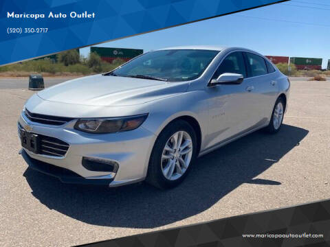 2018 Chevrolet Malibu for sale at Maricopa Auto Outlet in Maricopa AZ