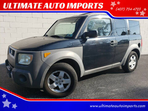 2004 Honda Element for sale at ULTIMATE AUTO IMPORTS in Longwood FL