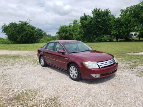 2008 Ford Taurus for sale at NOTE CITY AUTO SALES in Oklahoma City OK