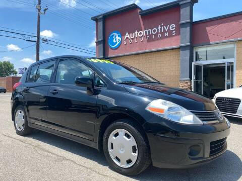 2008 Nissan Versa for sale at Automotive Solutions in Louisville KY