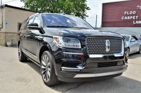 2019 Lincoln Navigator L for sale at LAKESIDE MOTORS, INC. in Sachse TX