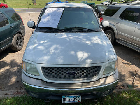 2001 Ford F-150 for sale at Continental Auto Sales in White Bear Lake MN