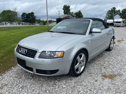 2004 Audi A4 for sale at Champion Motorcars in Springdale AR