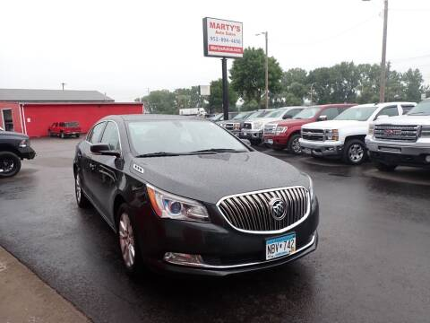 2014 Buick LaCrosse for sale at Marty's Auto Sales in Savage MN