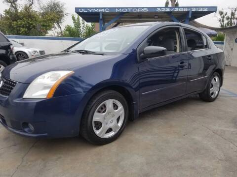 2008 Nissan Sentra for sale at Olympic Motors in Los Angeles CA