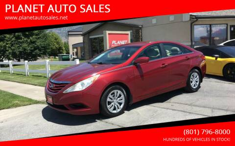 2011 Hyundai Sonata for sale at PLANET AUTO SALES in Lindon UT