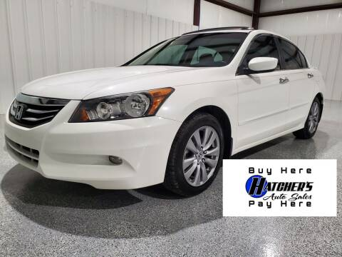 2011 Honda Accord for sale at Hatcher's Auto Sales, LLC - Buy Here Pay Here in Campbellsville KY