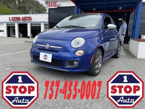 2012 FIAT 500 for sale at 1 Stop Auto in Norfolk VA