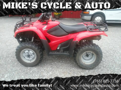 2012 Honda Rancher  for sale at MIKE'S CYCLE & AUTO in Connersville IN