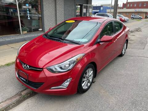 2015 Hyundai Elantra for sale at Midtown Autoworld LLC in Herkimer NY